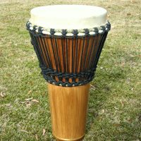 Handmade Djembe by Bill Mechuga
