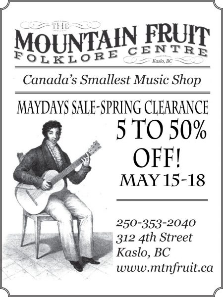May Days Sale 2015