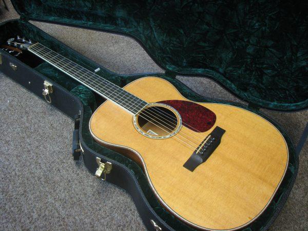 Gorgeous Morgan Acoustic Steel String OM