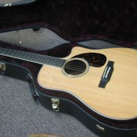 Beautiful Morgan Dreadnought Acoustic Guitar with Cutaway