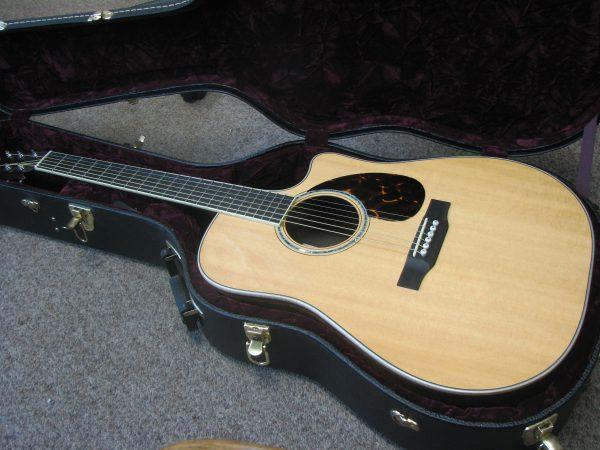 Beautiful Morgan Dreadnought Acoustic Guitar with Cutaway