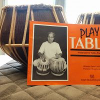 Used Tabla Set with Bag and Instruction Book