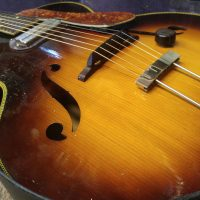 1950s Silvertone Archtop