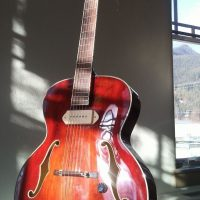 Pressed Laminate Top Eastman Archtop AR405E