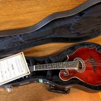 Eastman F-style Mandolin with Pickup